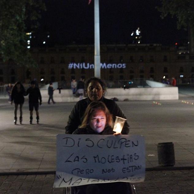 Contra la violencia machista. Cobertura de la movilización feminista global #NiUnaMenos