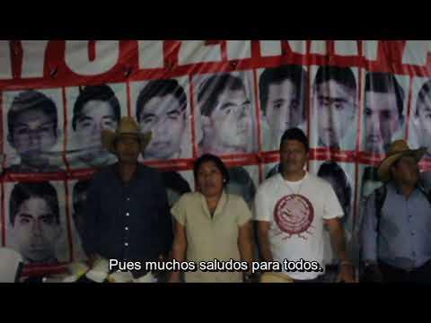 Libertad al pueblo Mapuche desde Ayotzinapa