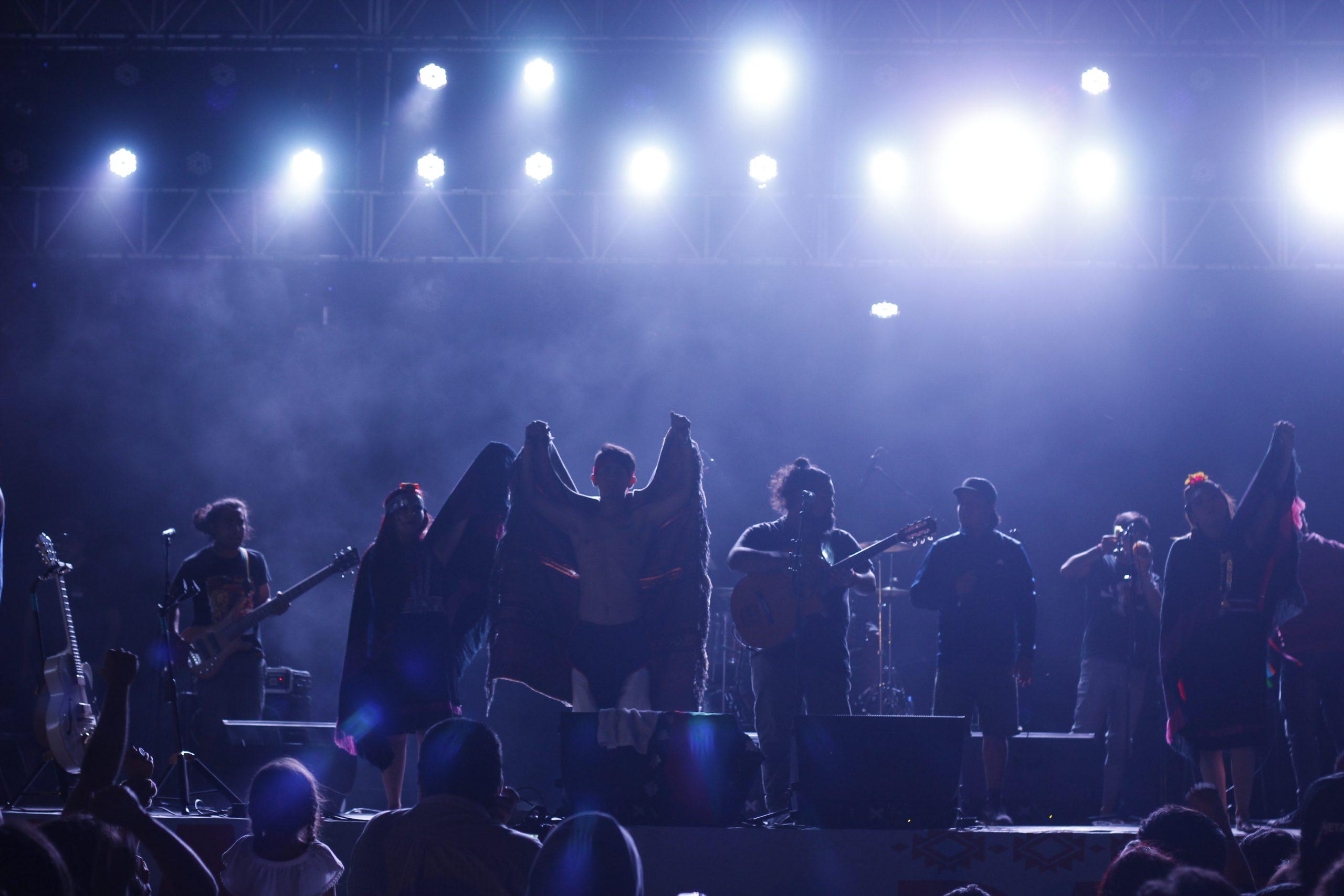 Rapa Makewe: Fiesta de la reivindicación mapuche. Dystópica y Kurruf.