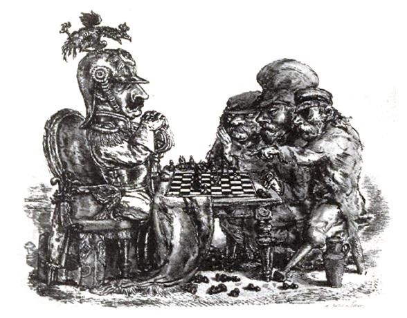El ajedrez de los perdedores: intuiciones sobre el devenir minoritarix y la deserción del macho-capital