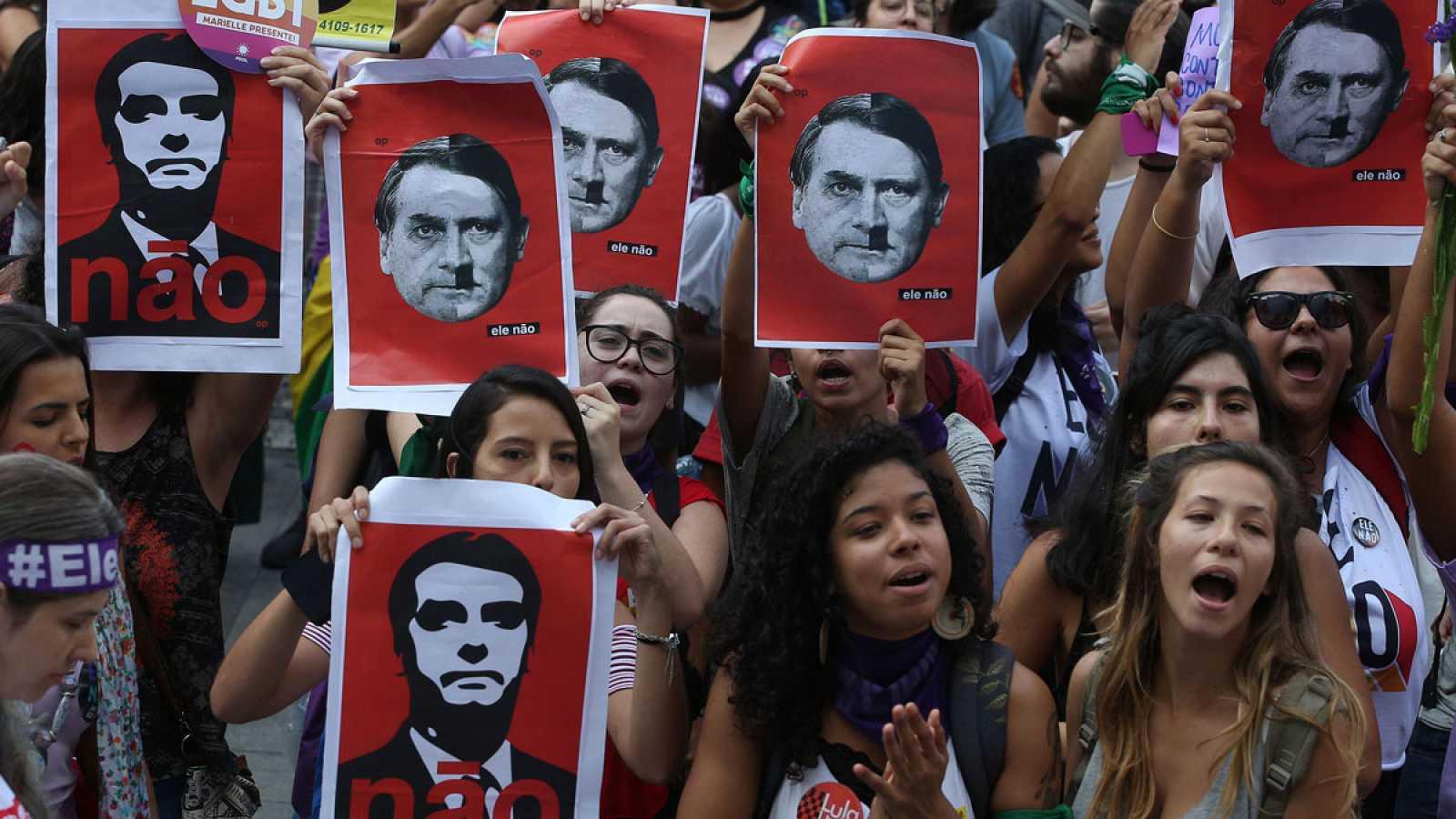 Nadie se suelta la mano. Conversaciones transbrasileras en torno al axioma Bolsonaro